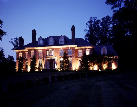 Architectural Landscape Lighting Architectural Outdoor Lighting Traditional Exterior