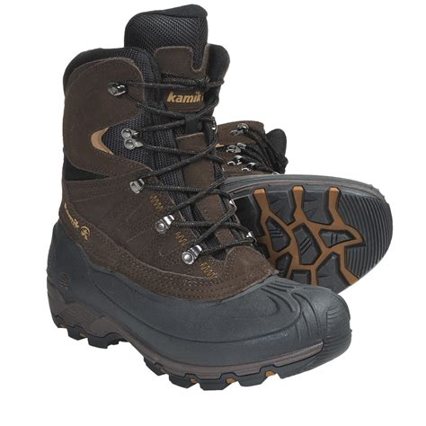 boots for snow kamik nordicpas2 snow boots waterproof insulated for