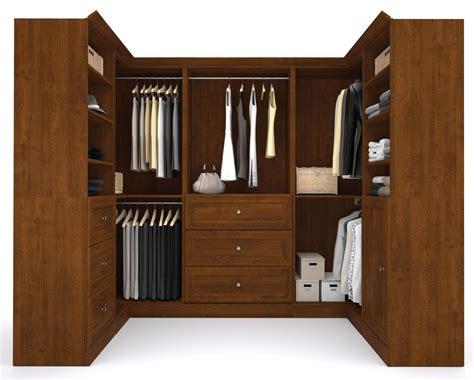 Versatile Wardrobe by Versatile Tuscany Brown 108 Corner Storage Wardrobe