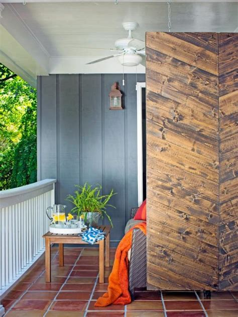 Balcony Shade Privacy Screens by Privacy Screen Ideas For Your Outdoor Area