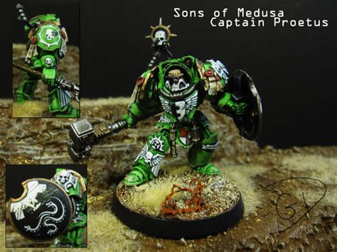 41 Year Spends 40000 To Find A Mate by Lysander Sons Of Medusa Space Marines Terminator Armor