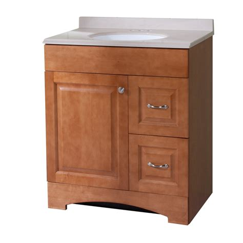 30 X 18 Bathroom Vanity shop style selections almeta 30 6 in x 18 7 in honey