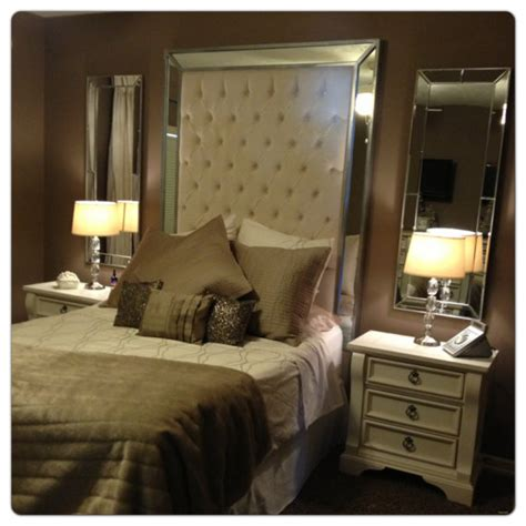 mirror headboard queen items similar to headboard with mirrors extra tall