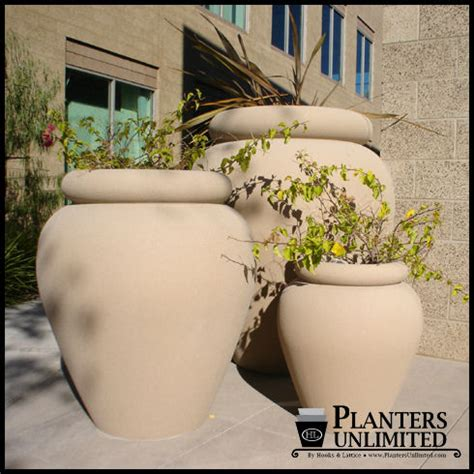 Large Commercial Planters by And Modern Style Large Commercial Fiberglass
