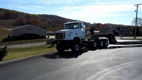 heavy spec volvo autocar  tractor pull  truck youtube