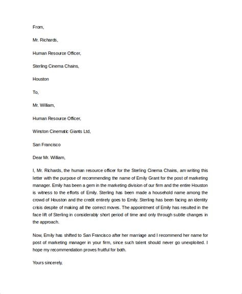 Reference Letter For Application Letter Of Recommendation Sle For Application 4 Ways To Ask For A Re Mendation Letter