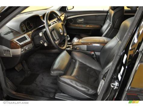Bmw 745li Interior by Black Interior 2002 Bmw 7 Series 745li Sedan Photo