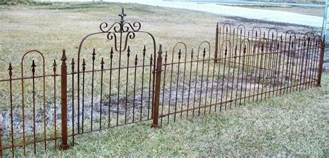 Metal Garden Fencing by 3 Wrought Iron Iron Fencing