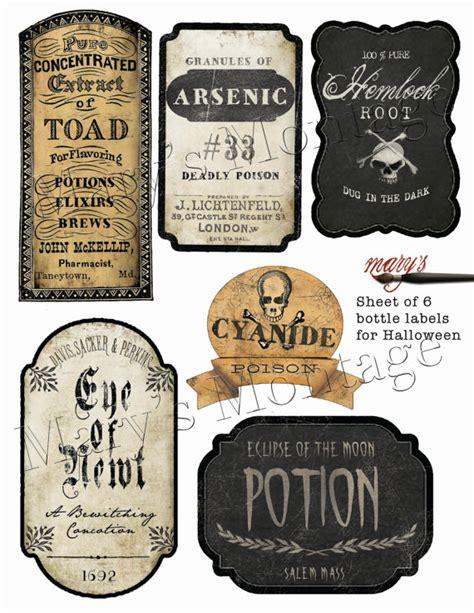 printable halloween jar labels halloween bottle labels download print sheet of 6 300