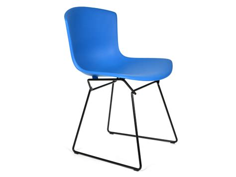 Knoll Bertoia Side Chair Buy The Knoll Studio Knoll Bertoia Plastic Side Chair Black Base Set Of 2 At Nest Co Uk