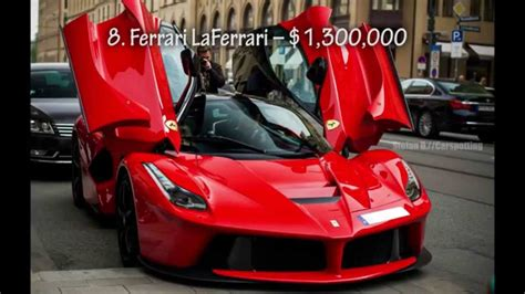 Teuerstes Auto 2017 by 10 Most Expensive Sports Cars In The World Youtube