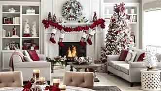 Open Plan Living Space Holiday Decor Ideas