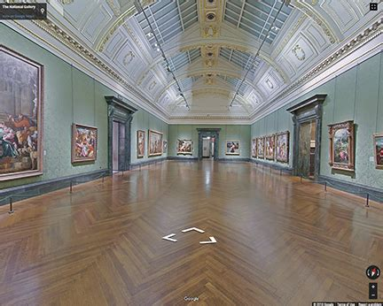 virtual tours visiting national gallery london
