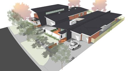 Mba Deakin Residentials by Amc Architecture Lda Mba Charity Houses Deakin