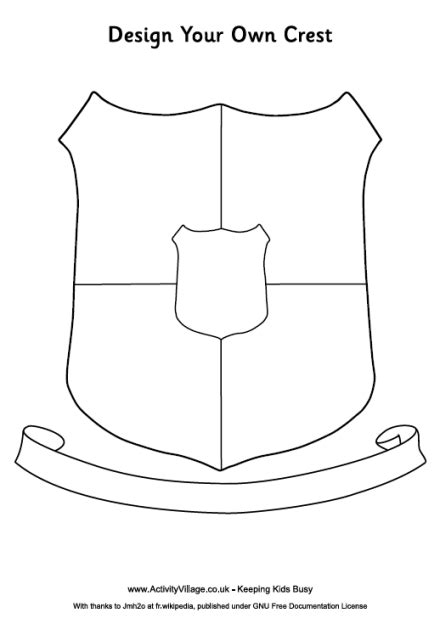 Crest Design Template Family Crest On Pinterest Coat Of Arms Badges And Japanese Logo