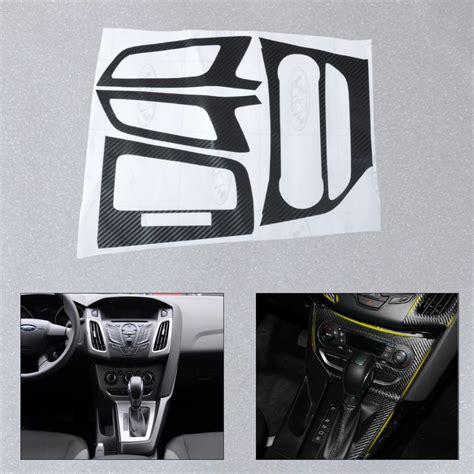 Car Interior Stickers by New Car Interior Center Console Carbon Fiber Molding