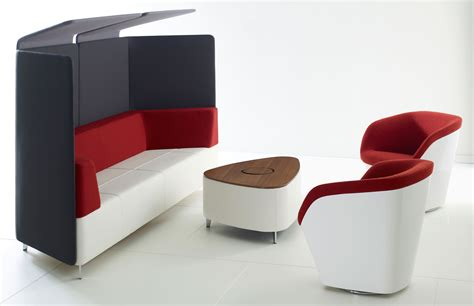 Modern Office Furniture Acoustic Furniture More Privacy Less Noise Modern Office Furniture