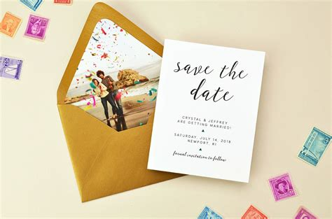 9 Date Ideas When Youre On A Budget by 5 Creative Save The Date Ideas Cards Pockets Design