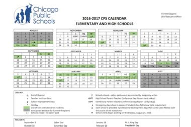 Cps School Calendar 2016 When Does School Re Start For Cps After Summer