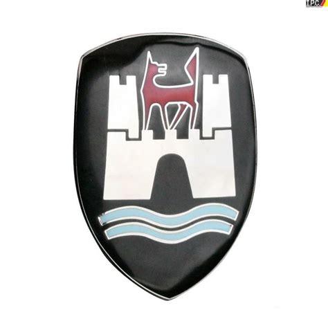 german volkswagen logo volkswagen bug beetle wolfsburg hood crest german 1958