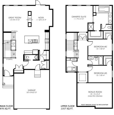 House Plans Edmonton by Kristana Model Home Floor Plan By Pacesetter Homes
