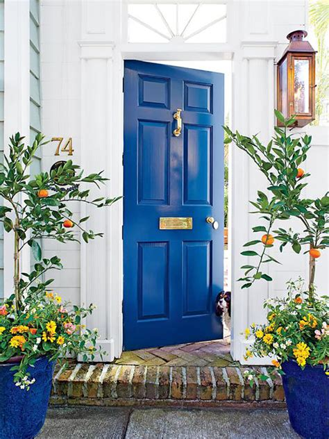 Are Blue And Black Colors Good Feng Shui For Your Front Yellow Front Door Feng Shui