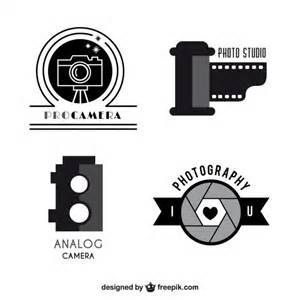 pack template cameras logo templates pack vector free