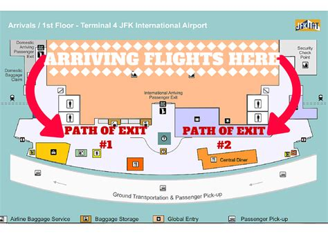 jfk terminal 4 map jfk terminal 4 how to survive luxury ride nj transportation