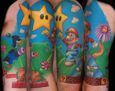 tattoo quiz game 17 best images about mario bros tattoo on pinterest