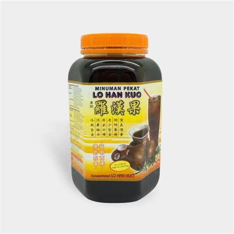 Teh Lo Han Kuo concentrated lo han kuo hock product centre store malaysia