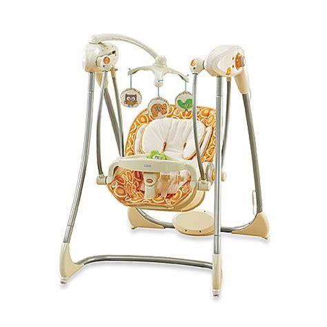 baby swing glider fisher price fisher price 174 dreamsicle collection swing n glider