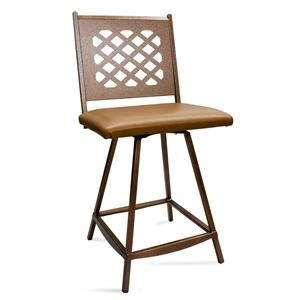 bailey commercial grade swivel bar stool sam s club lattice back swivel bar stool custom bar stools and chairs