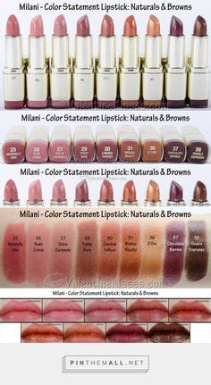 milani color statement lipstick swatches swatches of the new l oreal colour riche shine lipstick