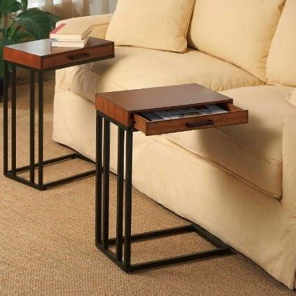 slide sofa tray table table