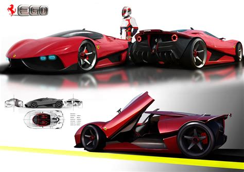 future ferrari supercar ferrari ego concept a supercar for the year 2025