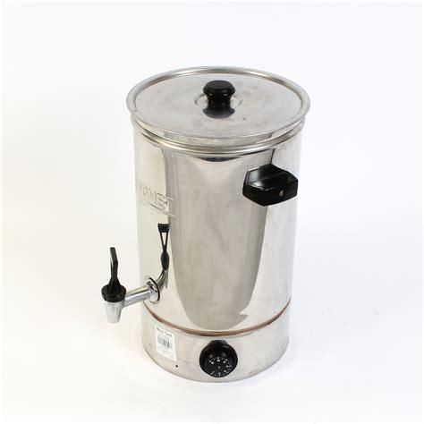 hot water urn 9l blast event hire