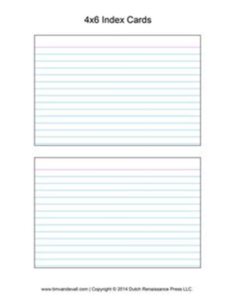 printable big index cards useful templates on pinterest brochure template paper