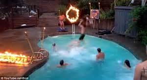 a slam dunk through a ring of fire teen friends record