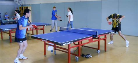 table tennis for table tennis information recreational services