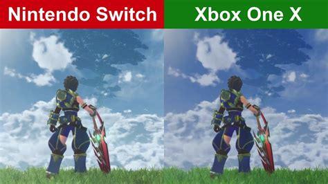 Switch Xenoblade Chronicles 2 1 xenoblade chronicles 2 nintendo switch vs xbox one