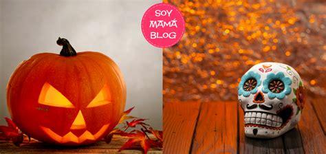 dia de muertos contra halloween ogas halloween y dia de muertos