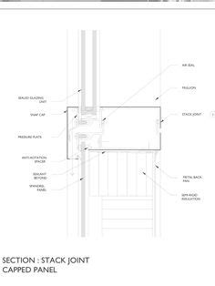 stack joint curtain wall curtain wall stack joint decorate the house with