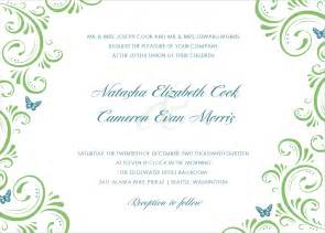 wedding card templates free wedding invitations cards template best template collection