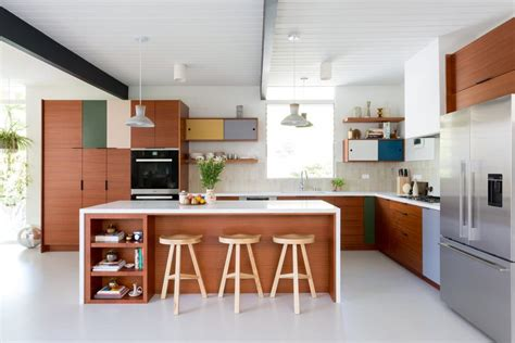 mid century modern kitchen design woodys premium cabinetry