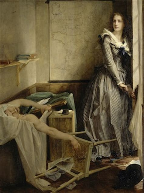 french revolution bathtub painting charlotte corday and the bathtub assassination of jean