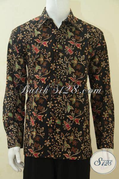 Kemeja Batik Klasik Lengan Panjang sedia produk kemeja batik klasik dari jual baju batik lengan panjang furing