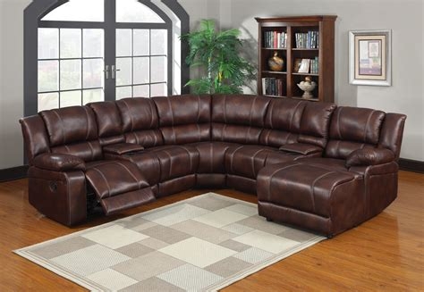 Sectional Recliner Sofa With Cup Holders Interior