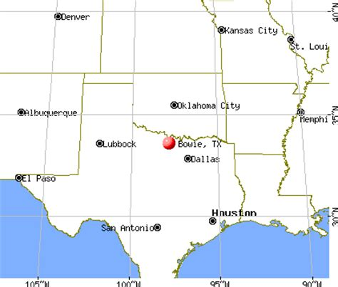 where is bowie texas on a map bowie texas tx 76230 profile population maps real estate averages homes statistics