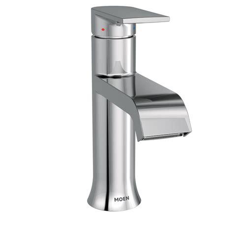 moen single hole bathroom faucet moen genta single hole single handle bathroom faucet with