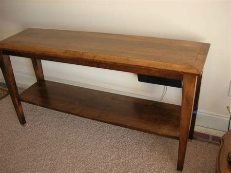 Handmade Console Table - handmade console table by d n yager woodworks custommade